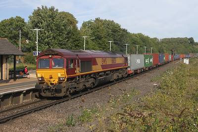 66135 Micheldever 24/09/16 4O43 Birch Coppice to Eastleigh