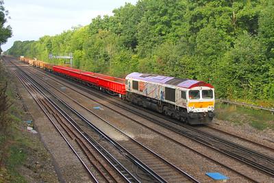 66721 Old Basing 22/09/16 6Y48 Eastleigh to Hoo Junction