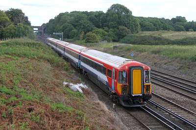 2412 Potbridge 23/09/16 on the rear of 5E42 Eastleigh to Ely Papworth Sidings