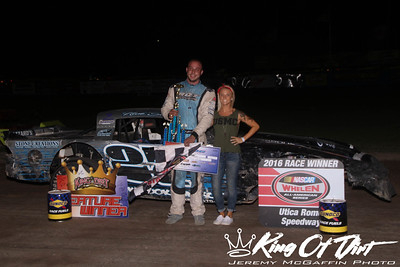Sept. 10, 2016 - Utica Rome - Pro Stocks - Jeremy McGaffin