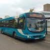 Arriva Volvo Wright Eclipse KE54LNR 3856 at Harlow Town station on the 10.