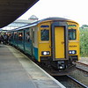 Arriva Trains Wales Class 150 Sprinter no. 150252 at Llandudno Junction with a service to Chester.