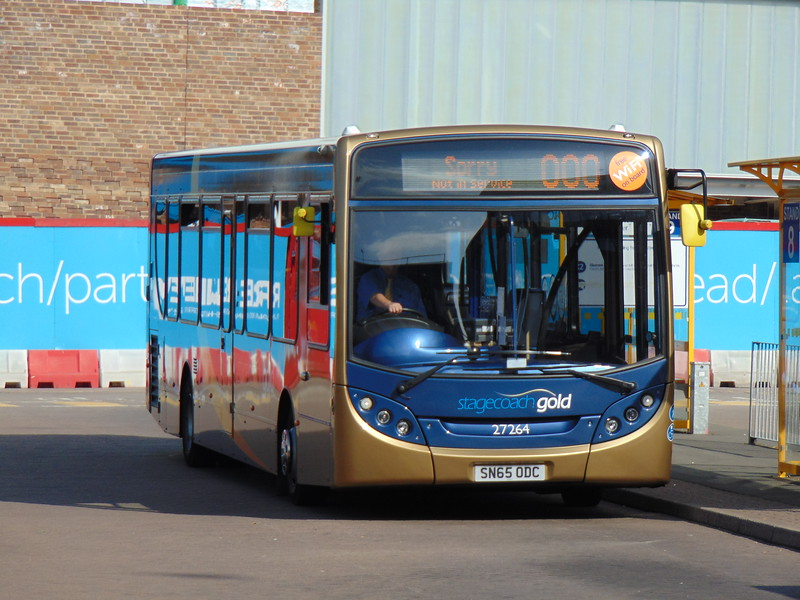 Stagecoach Gold Enviro 300 SN65ODC 27264 at Chester bus station.