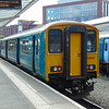 Arriva Trains Wales Class 150 Sprinter no. 150241 at Chester on a Crewe service.