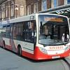 Aintree Enviro 200 YX12GGV 120 at Chester rail station on the city-rail link.