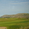 The Great Orme seen from across Llandudno Golf Course.