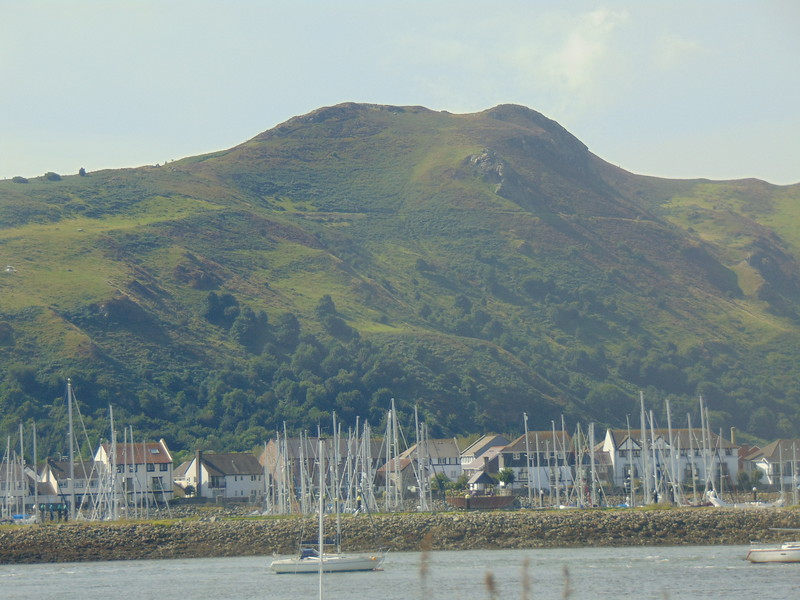 Conwy Mountain, seen from Deganwy.