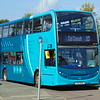 Arriva Sapphire Enviro 400 CX15BXN 4637 in Chester on the 10.