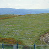 Stone messages on the hill of names at the Great Orme, Llandudno.