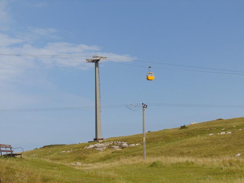 The Great Orme Cable Car, Llandudno.