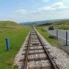 The Great Orme Tramway at Summit Station.