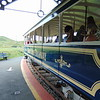 "Great Orme Tramway car no. 7 ""St. Trillo"" at Halfway station, Llandudno."
