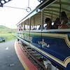 """Great Orme Tramway car no. 7 """"St. Trillo"""" at Halfway station, Llandudno."""