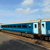 Arriva Trains Wales Mark 3 Standard Open carriage no. 12178 at Llandudno Junction in the consist of a Holyhead service.