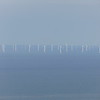 Looking out over the Irish Sea at the wind farms from the Great Orme, Llandudno.