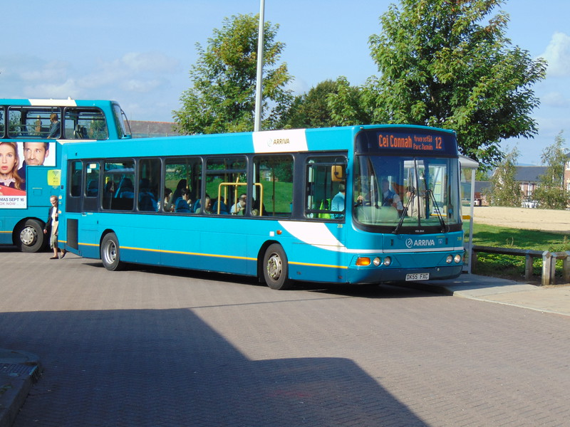 Arriva VDL Wright Cdet DK55FXC 2518 at Chester bus station on the 12.