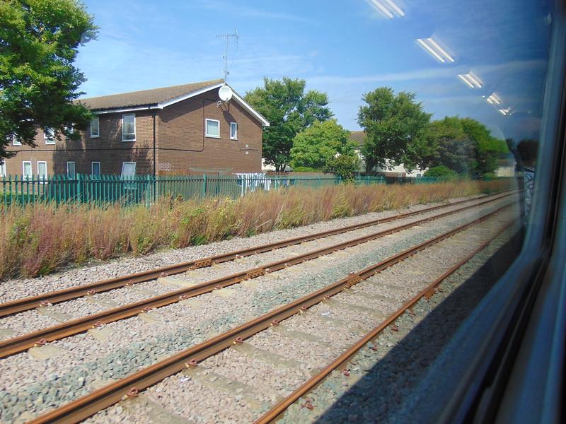 Approaching Llandudno station.