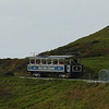 "Great Orme Tramway car no. 6 ""St. Seiriol"" working between Halfway and Summit."