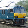 GBRF Caledonian Sleeper Class 92 no. 92010 at Crewe.