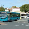 Arriva VDL Wright Pulsar CX58EXD 2913 at Llandudno Junction on the 13.