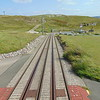 The Great Orme Tramway at Halfway Station.