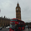 GoAhead London Wright NB4L 'Borismaster' LTZ1439 LT439 passing Big Ben on Westminster Bridge with the 12 to Dulwich.