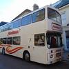 Hamiltons Coaches Volvo Citybus Alexander RV F603GVO in Northampton on the Heritage running day.