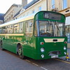 Preserved Maidstone & District Marshall bodied Leyland Leopard EKL456K 3456 in Northampton on the heritage open day shuttles.
