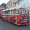 OK Motor Services Plaxton Panorama AEC Reliance 129DPT in Northampton on heritage open day shuttles.