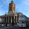 Hamiltons Coaches Volvo Citybus Alexander RV F603GVO passing All Saints Church in Northampton on the Heritage running day.