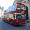 Preserved Coventry Corporation Transport MCW Metrobus F65XOF 3065 in Northampton on heritage open weekend shuttles.