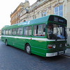 Preserved Western National Leyland National HTA844N 2813 in Northampton for the heritage open weekend.