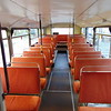 Hamiltons Coaches Volvo Citybus Alexander RV F603GVO interior in Northampton on the Heritage running day.