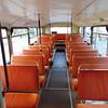 Hamiltons Coaches Volvo Citybus Alexander RV F603GVO interior in Northampton on the Heritage running day.