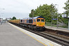 12 September 2016 :: 66761 at Basingstoke with 6M26 from Eastleigh to Mountsorrel