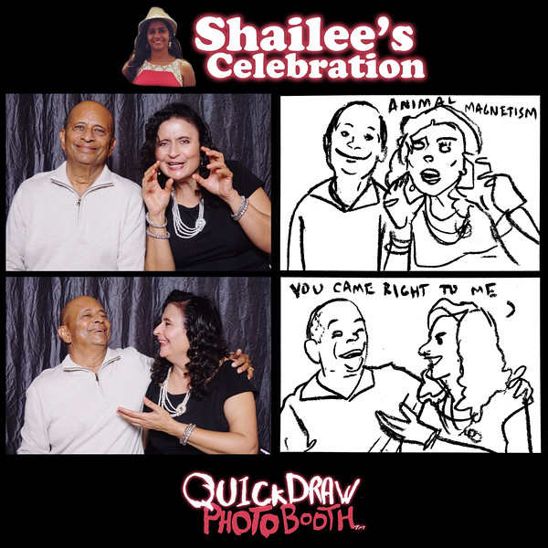 """Prints come in all shapes and sizes. If you can't crop the image to your liking, email me and I'll alter the photo to better accommodate your preferred size(s). �  <a href=""""mailto:info@quickdrawphotobooth.com"""">info@quickdrawphotobooth.com</a>"""