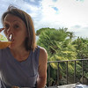 Ffi enjoys her last breakfast at Hotel Signum