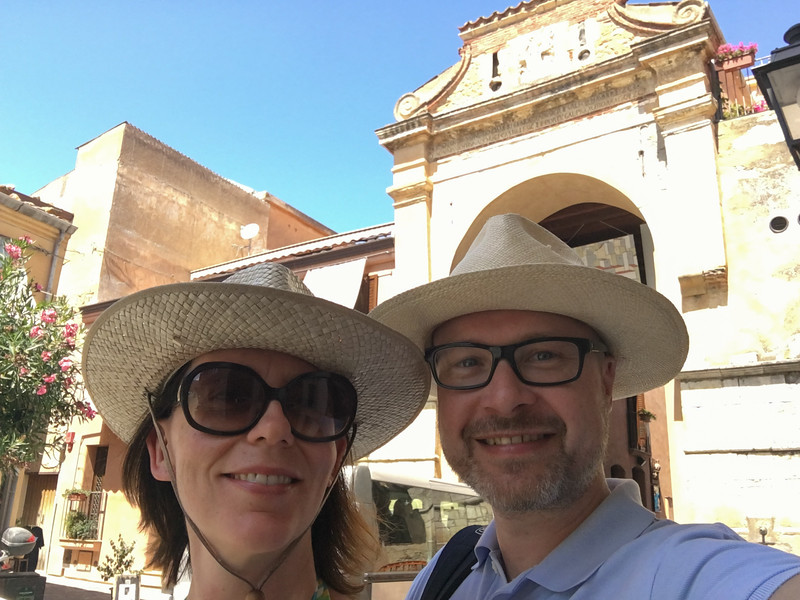 Selfie in Castelbueno