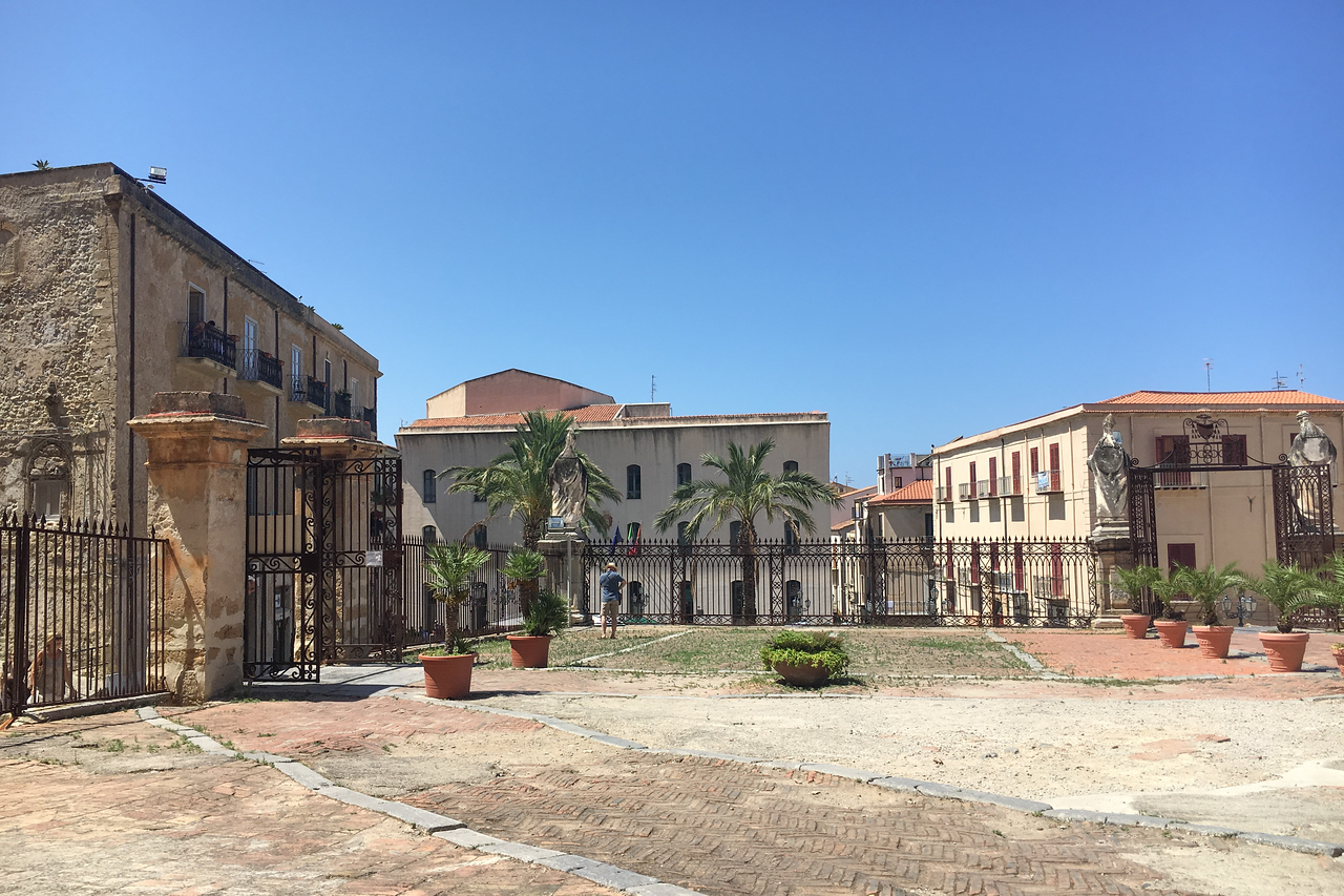 Courtyard outside the Cathedral