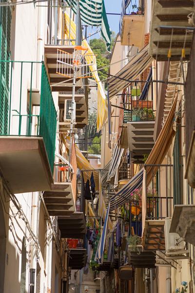Balconies in Cefalù