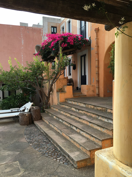 Our hotel (Hotel Signum) in Malfa, Salina