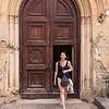 A doorway in Collesano