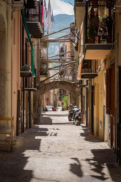 Castelbueno side street