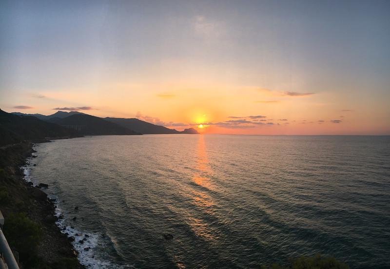 Sunset over Cefalù