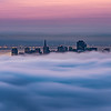 SF in its pillow of fog