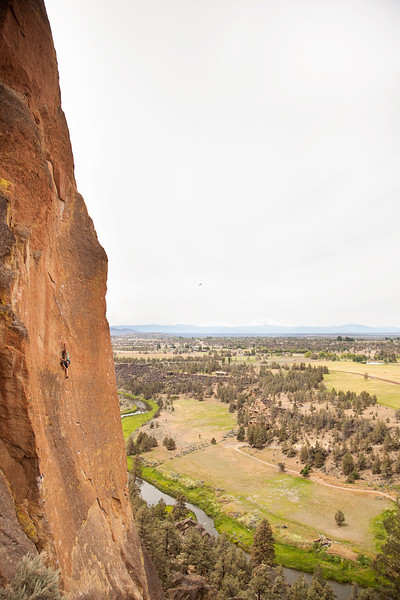 We somehow managed to spend an entire morning with a whole wall to ourselves. Here's Noah on <i>Screaming Yellow Zonkers 5.10a</i>.