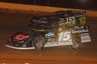 Darrell Lanigan (15) and Mike Marlar (157