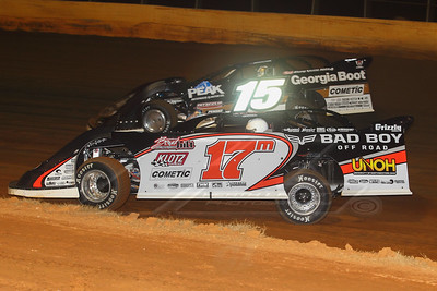 Dale McDowell (17M) and Darrell Lanigan (15)