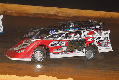 Randy Weaver (116) and Scott Bloomquist (0)