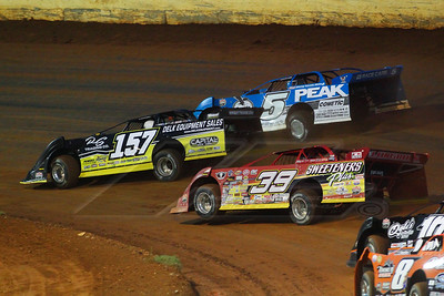 Mike Marlar (157), Don O'Neal (5) and Tim McCreadie (39)